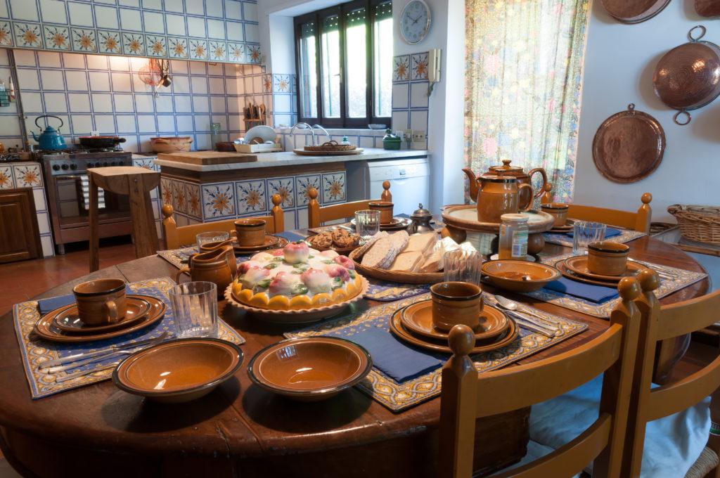 Cucina per prima colazione
